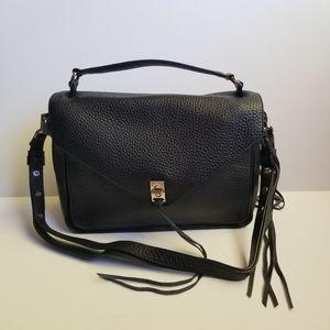 Rebecca Minkoff Darren Messenger Bag Black NEW